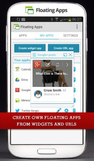 Floating Apps 4.6.1. Скриншот 5