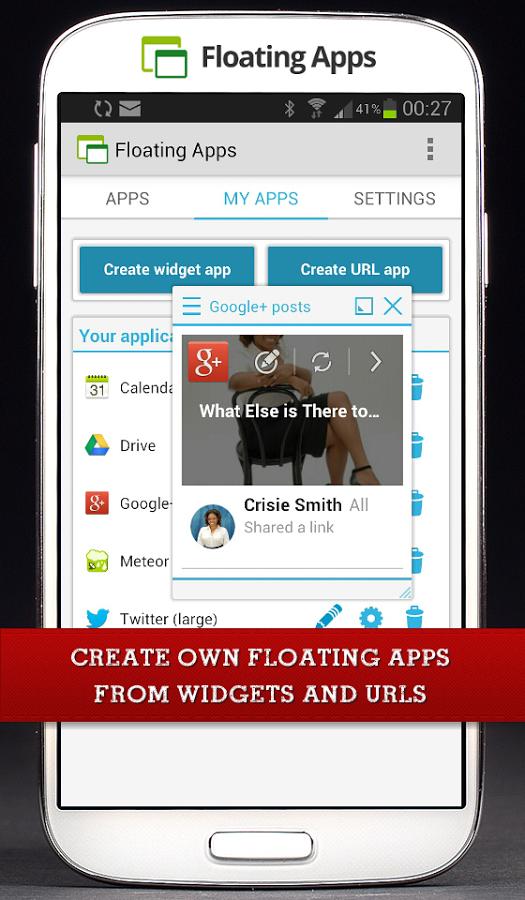 Скачать Floating Apps 4 11 1 для Android