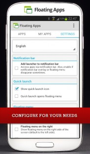 Floating Apps 4.4.6. Скриншот 9