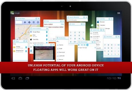 Floating Apps 4.4.6. Скриншот 10
