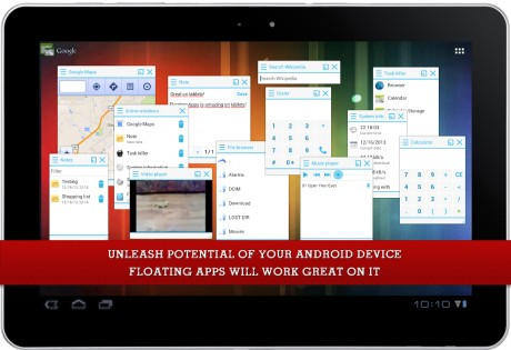 Floating Apps 4.6.1. Скриншот 10