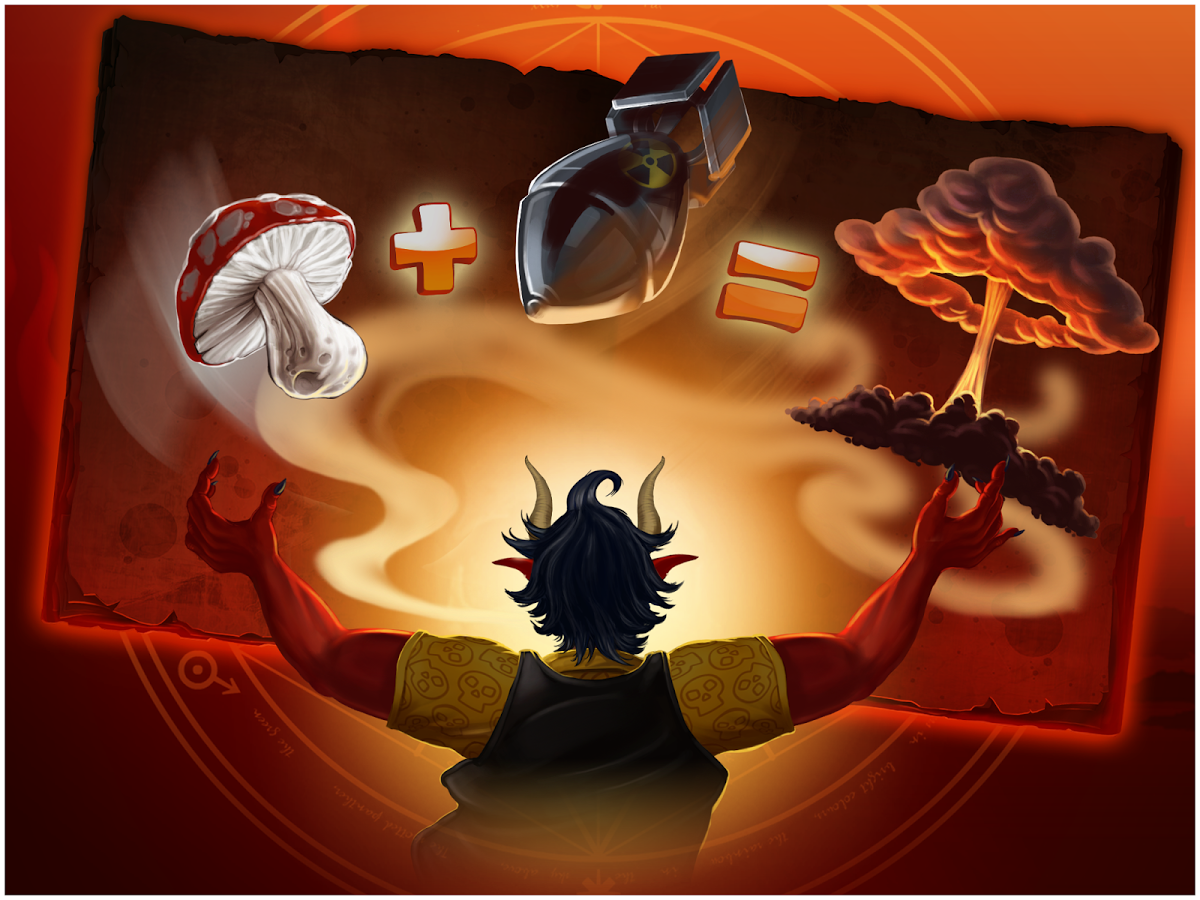 Doodle devil hd perfect for android free download at apk here.