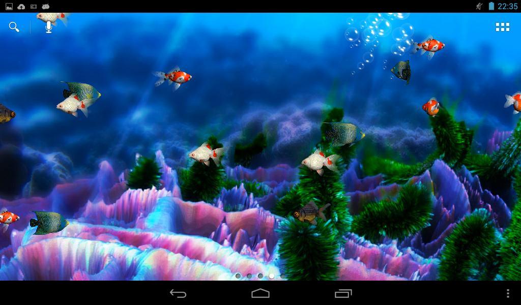 Скачать Живые Обои Аквариум На Андроид