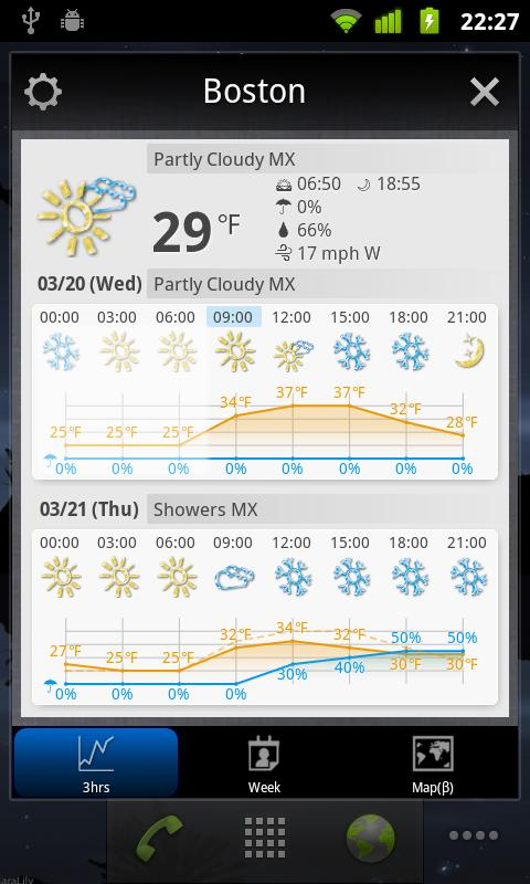 world weather glock widget версия 6.006