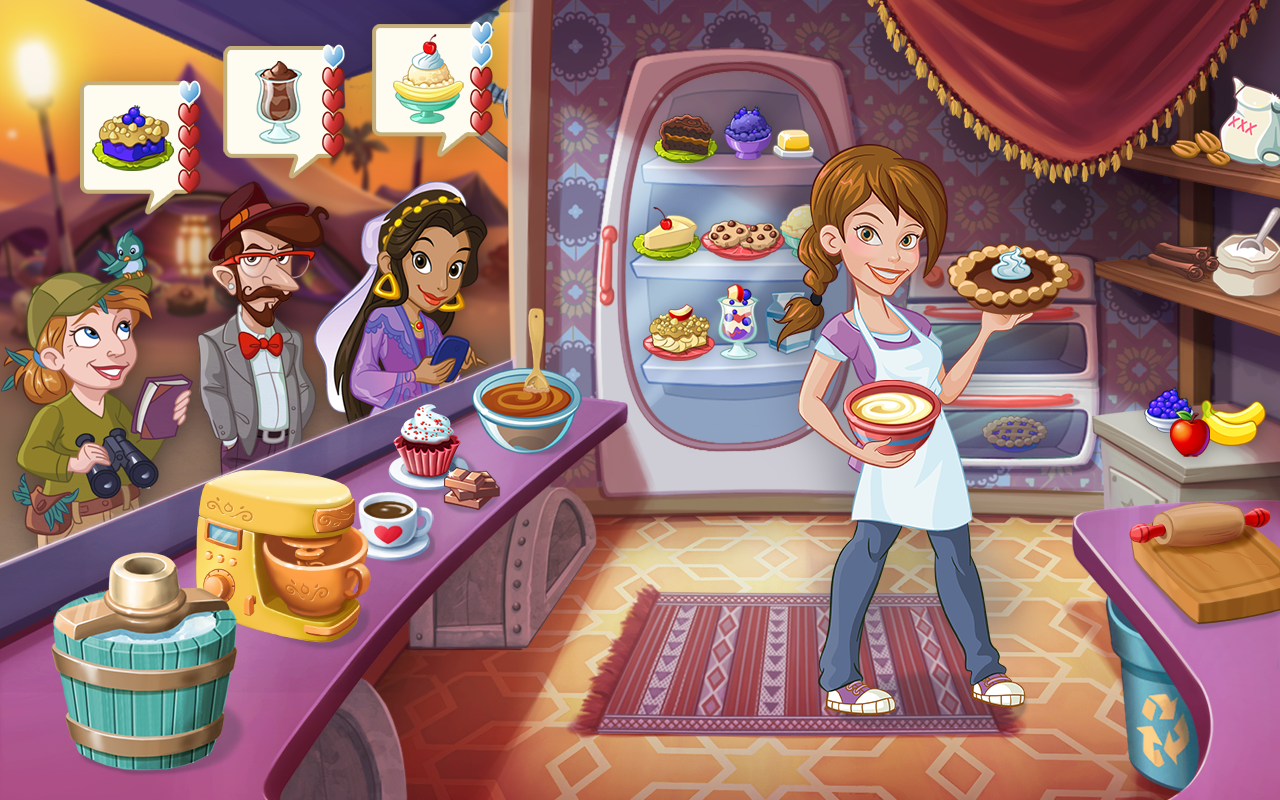 Kitchen story: cooking game android games in taptap   taptap.