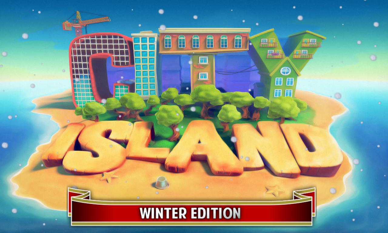 City island зима