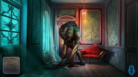 Home darkness— Escape 1.0. Скриншот 2