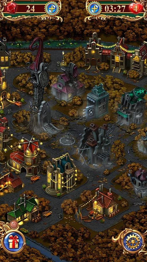 Gems of war игра 3 в ряд на андроид.