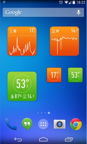 Приложение термометр на айфоне