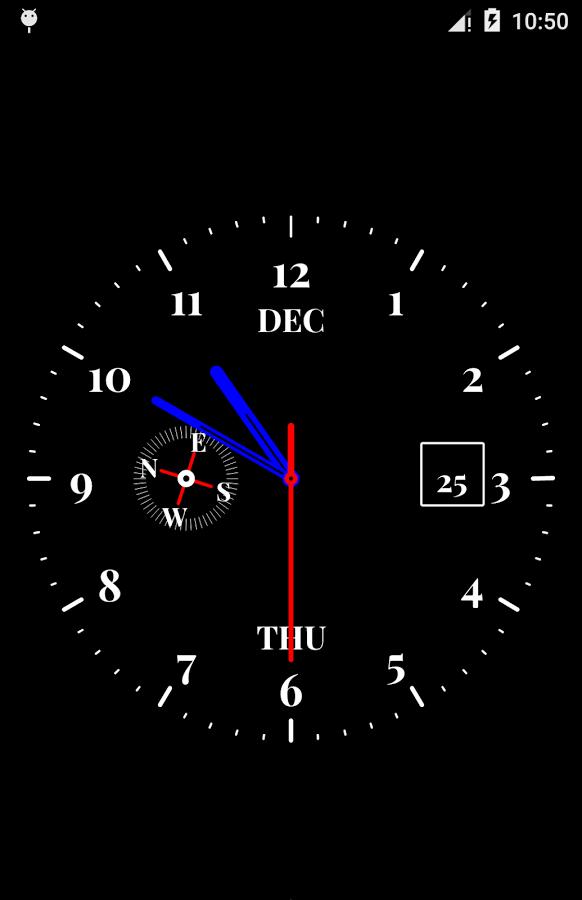 Красивые живые обои для Андроида (Часы)