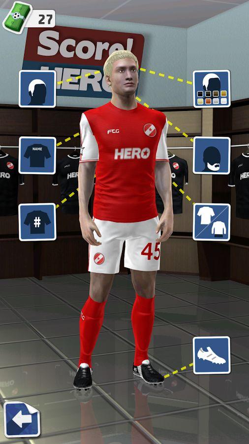 Score! Hero на андроид скачать бесплатно apk