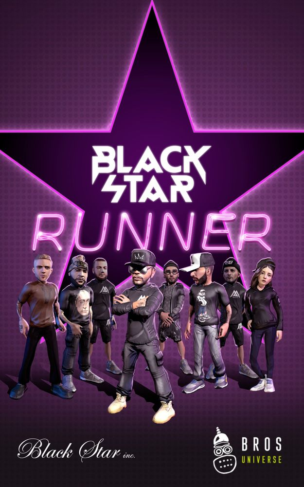 Black star runner на андроид скачать
