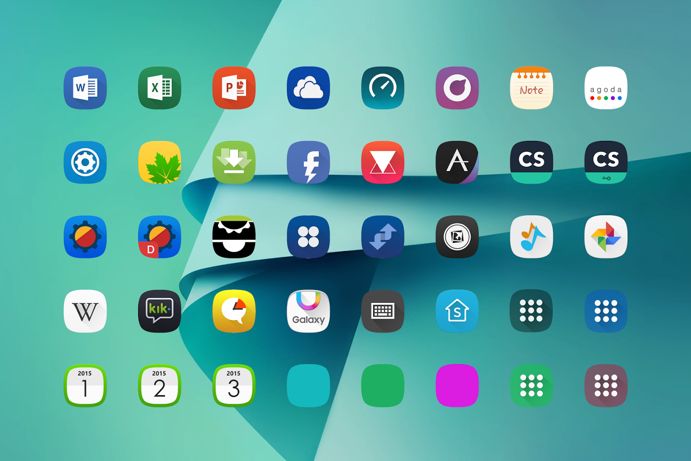 how to apply icon pack on touchwiz