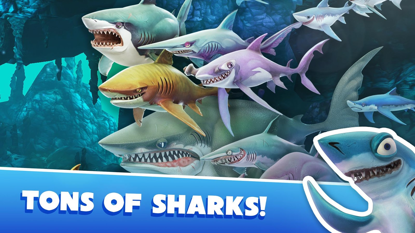 Ска�а�� hungry shark world 202 для android