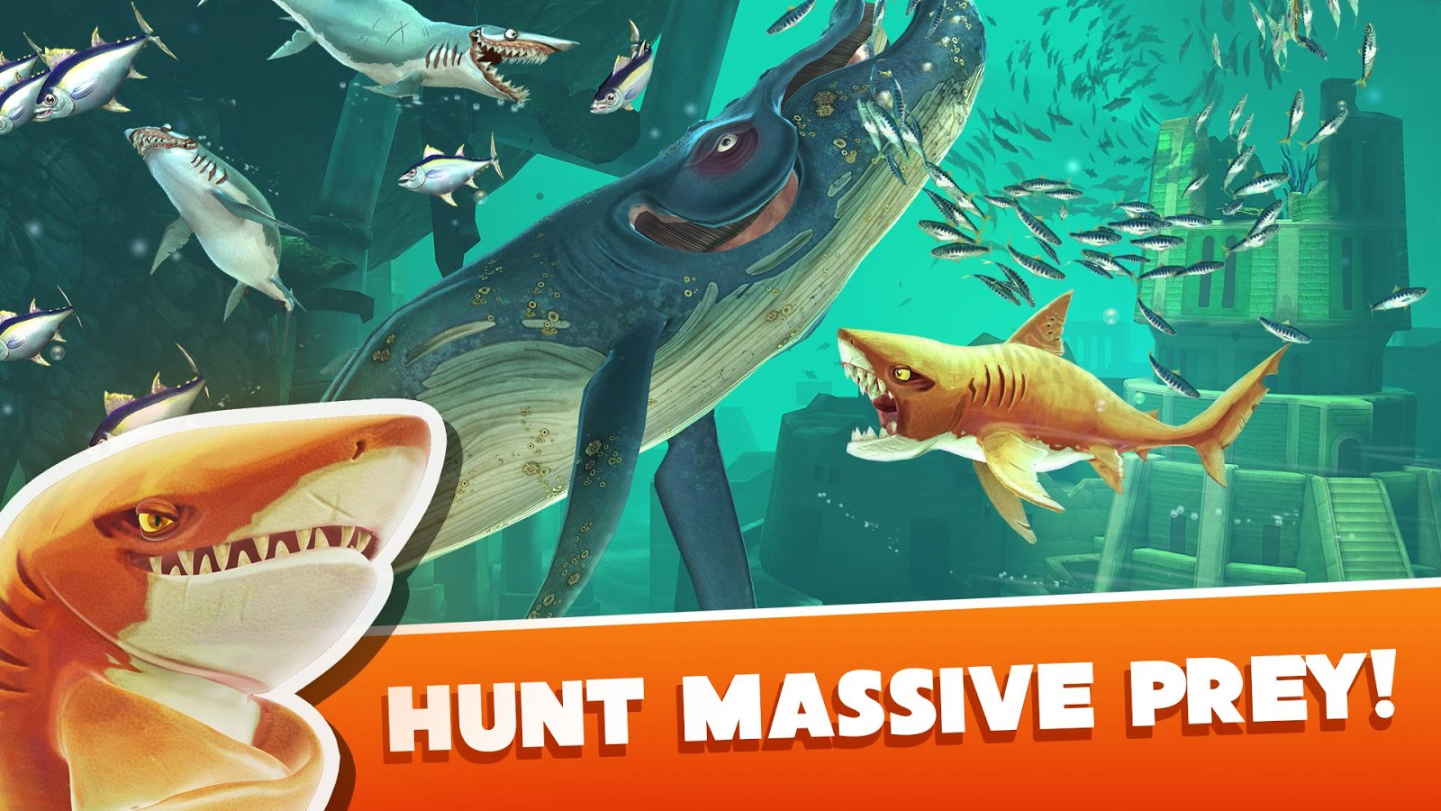 Скачать Hungry Shark 3 5 0 для Android