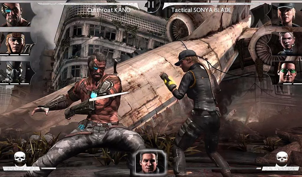 Mortal kombat 1 android game free download in apk.