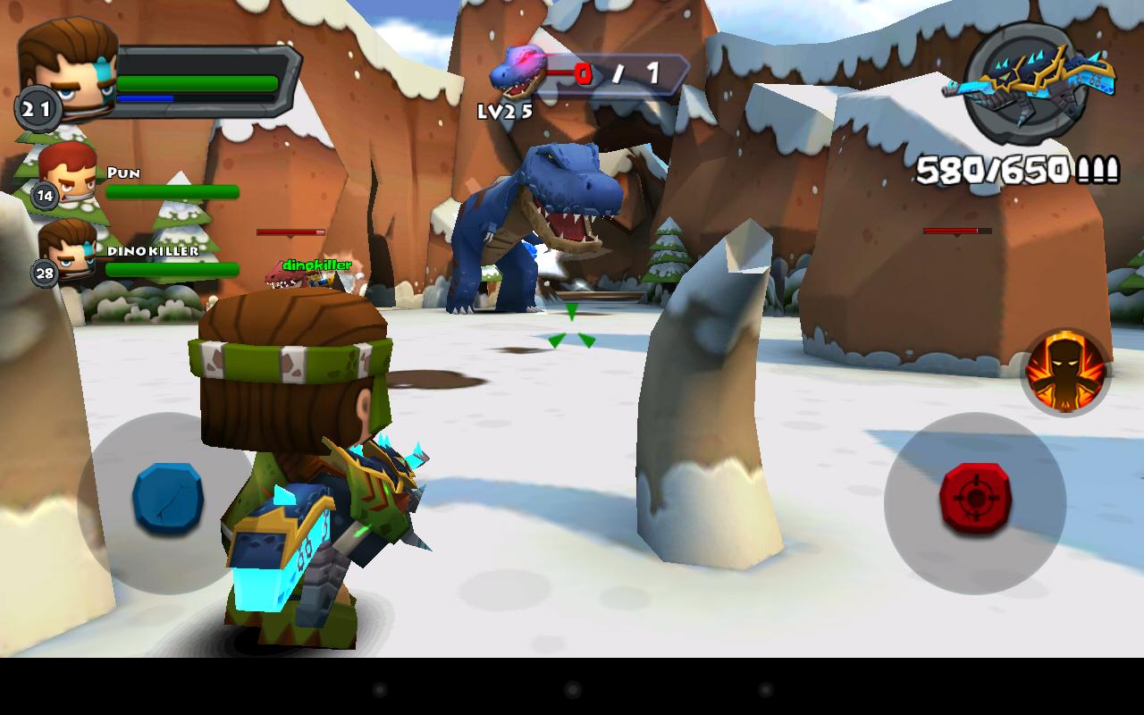 Играть в dino hunter с читами - 3444