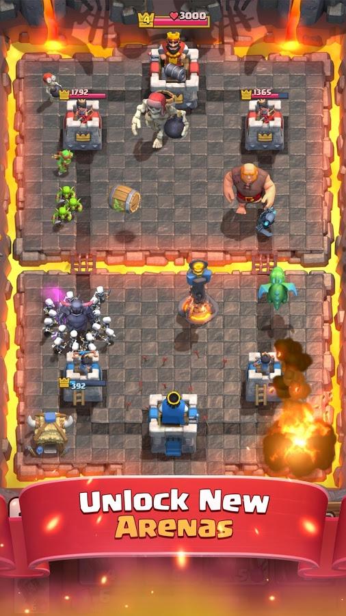 Скачать clash royale 2. 3. 2 для android.