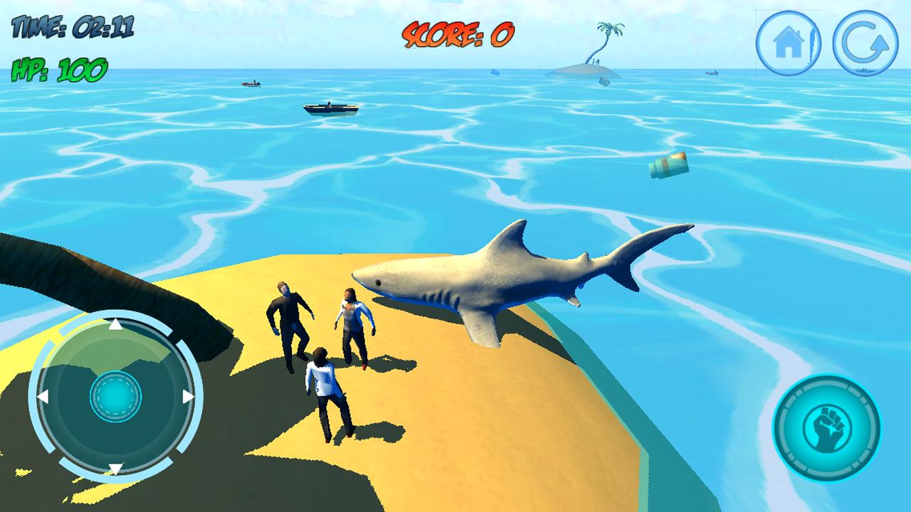 игры про акулу на андроид скачать