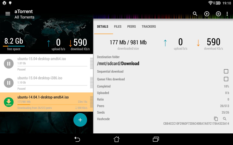 ATorrent - Torrent Downloader 2 2 3 6 для Android - Скачать
