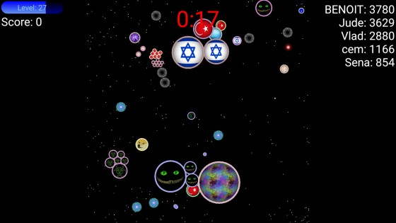 Nebulous 1.8.3. Скриншот 2