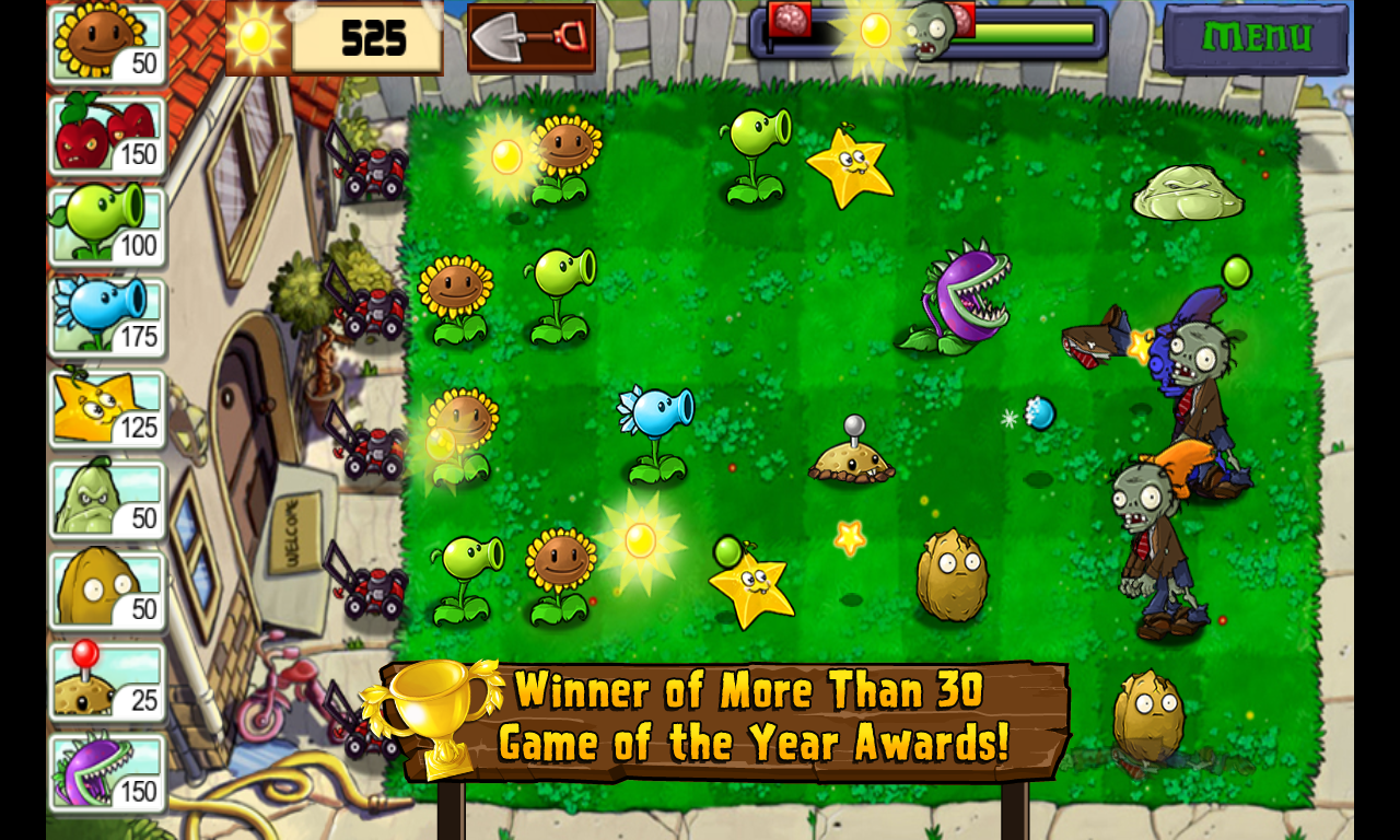Evolution of Plants Vs Zombies Games - YouTube