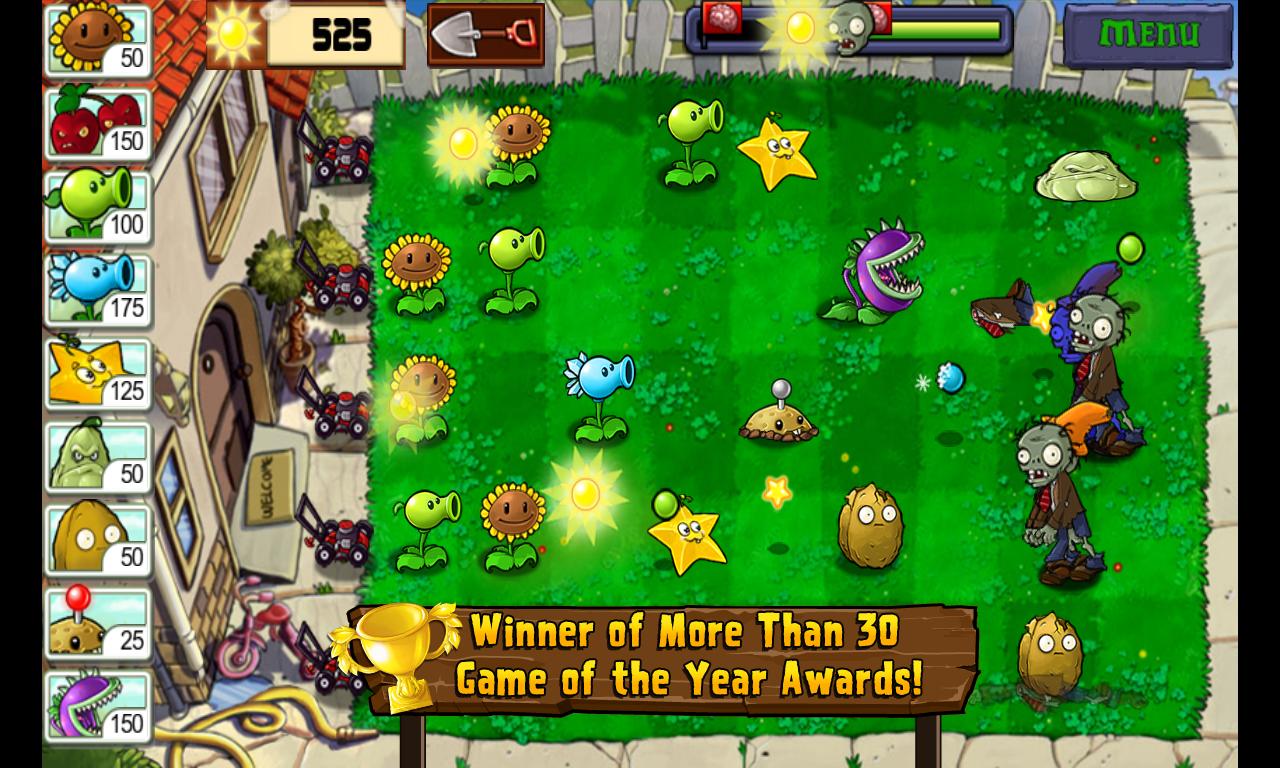 Plants vs. Zombies 2: mega мод: скачать apk apk game zone.