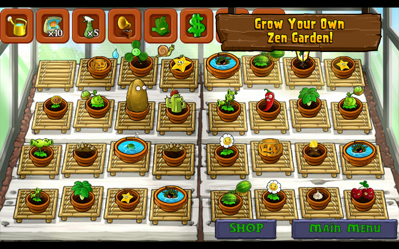 Plants vs. Zombies 2: it's about time: скриншоты.