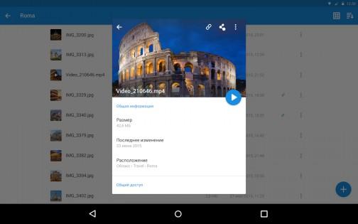 Облако Mail.Ru 3.9.8.6944. Скриншот 10