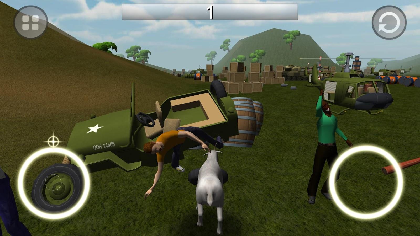 Скачать симулятор козы на андроид