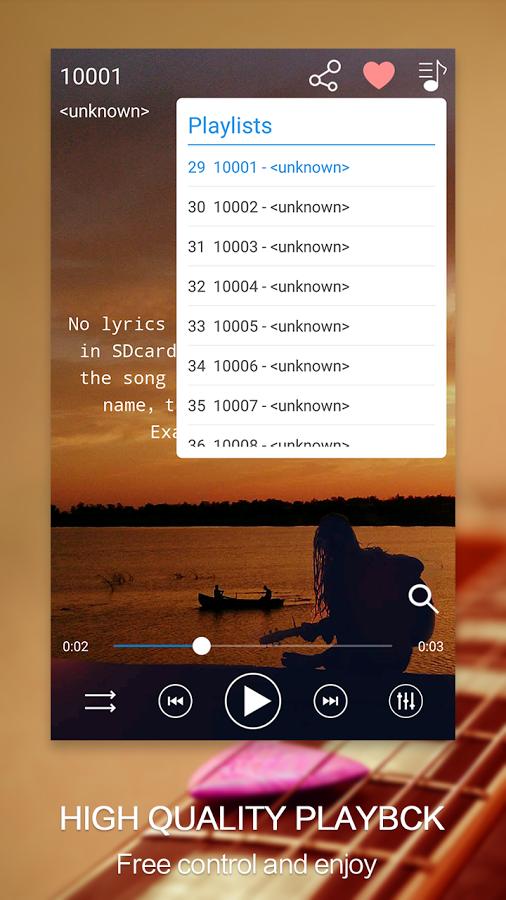 Скачать Leopard V7 Музыкальный проигрыватель 3 2 5 для Android