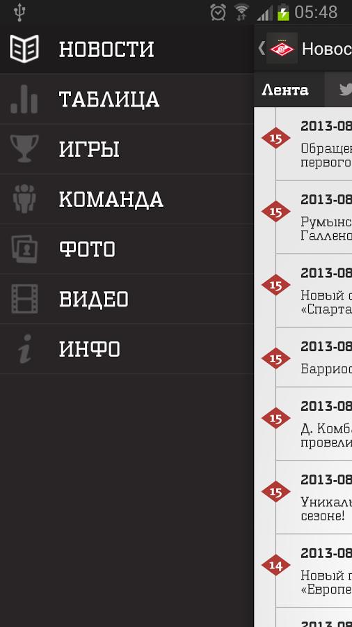 Последние новости ФК Спартак Москва на сегодня