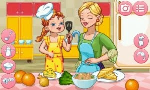 Dress Up Mother — Cook and Fun Together. Скриншот 3
