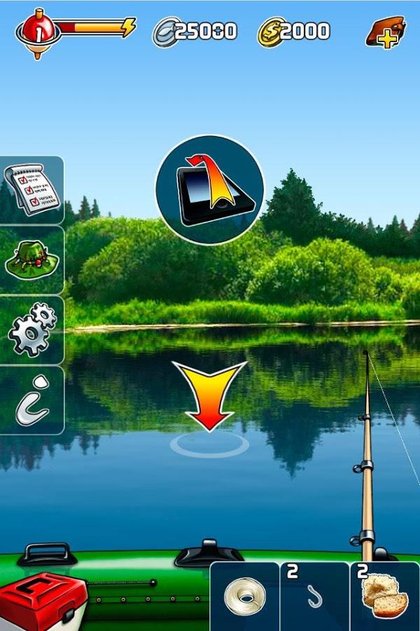 Скачать игру карманная рыбалка на андроид