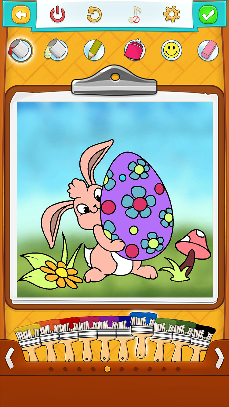 Скачать Раскраски Пасха для Детей 1.0 для iPhone / iPad, iPad