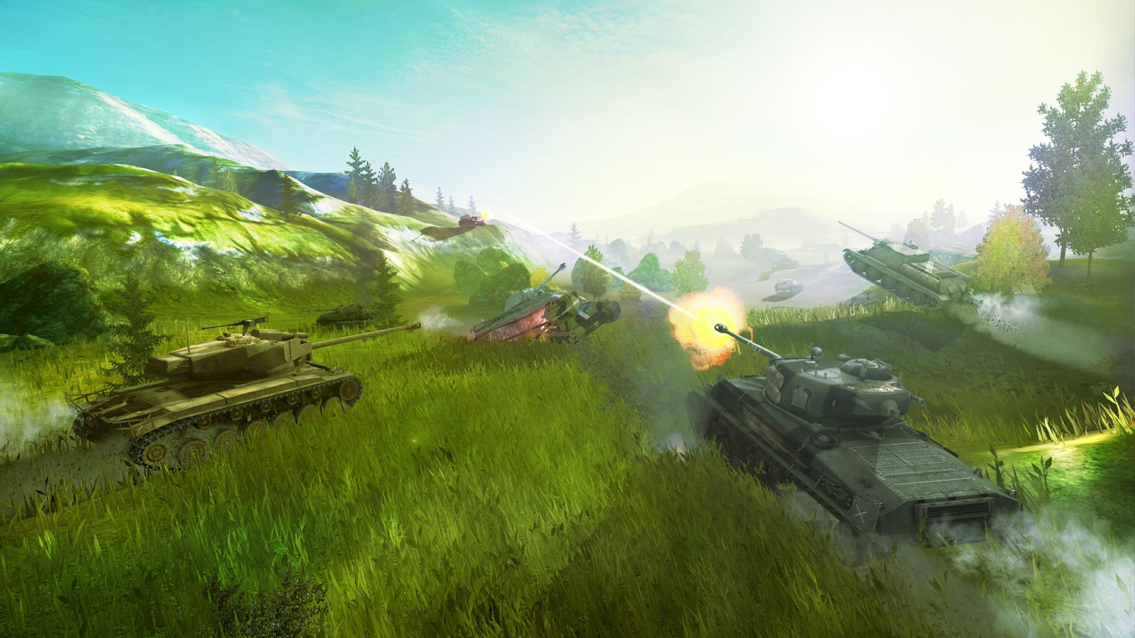 Обои world of tanks blitz | world of tanks blitz 5. 1 для ios.