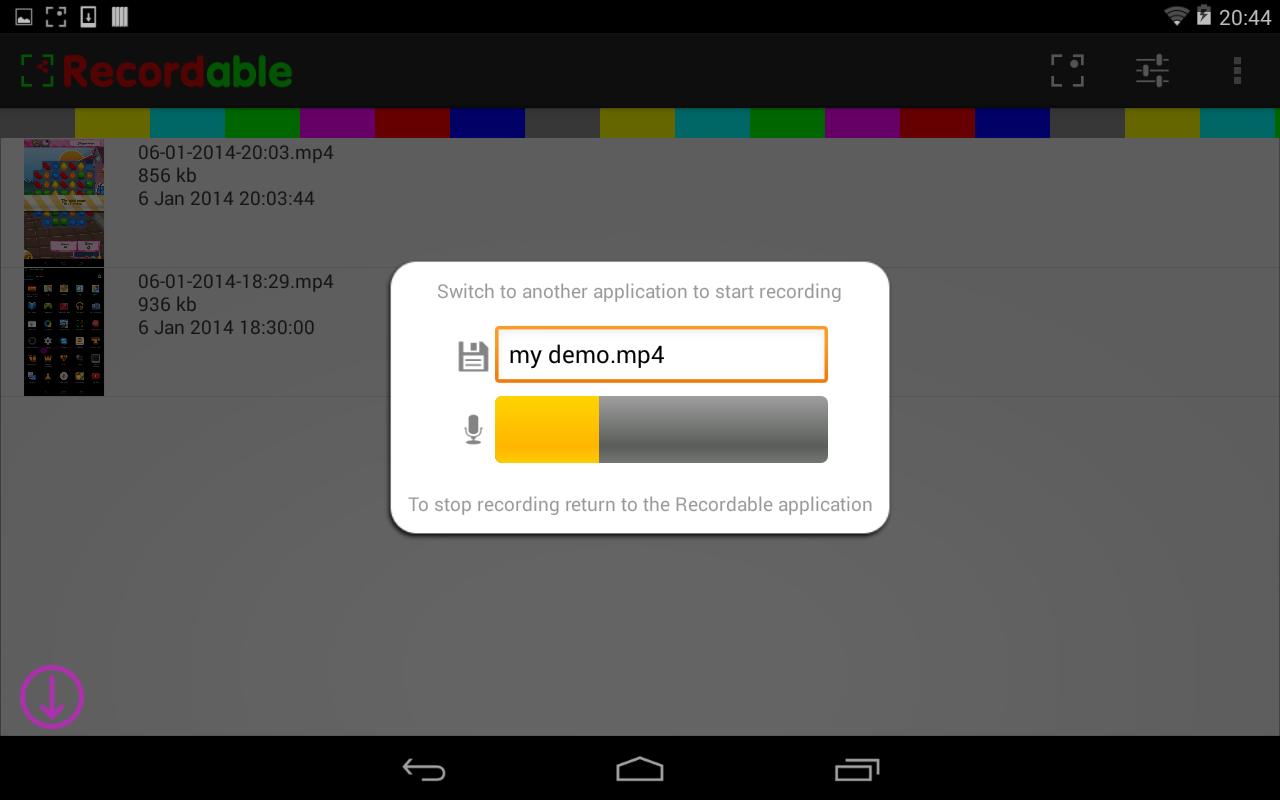Скачать программу recordable на андроид