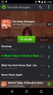PlayerPro Music Player 0.3. Скриншот 0