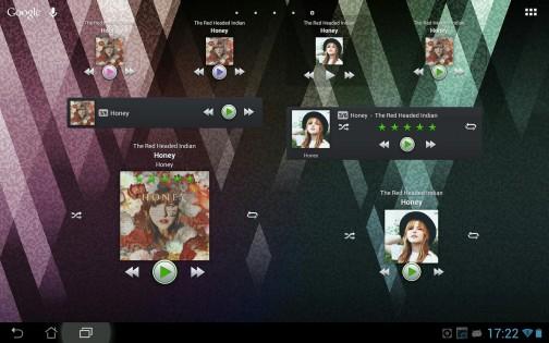 PlayerPro Music Player 0.3. Скриншот 01
