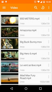 VLC 2.11.3. Скриншот 1