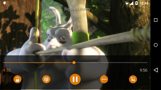 VLC 2.0.6. Скриншот 2