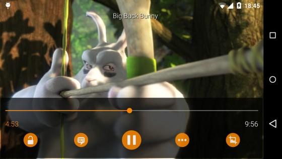 VLC 2.11.3. Скриншот 2