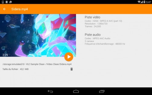 VLC 3.0.13. Скриншот 16