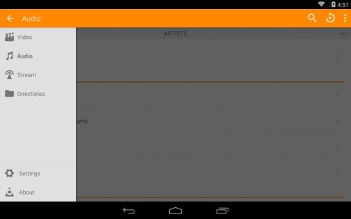 VLC 2.11.3. Скриншот 18