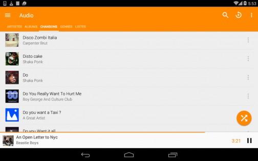 VLC 2.0.6. Скриншот 20