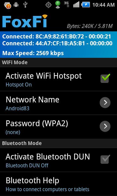 программа для раздачи wifi на андроид