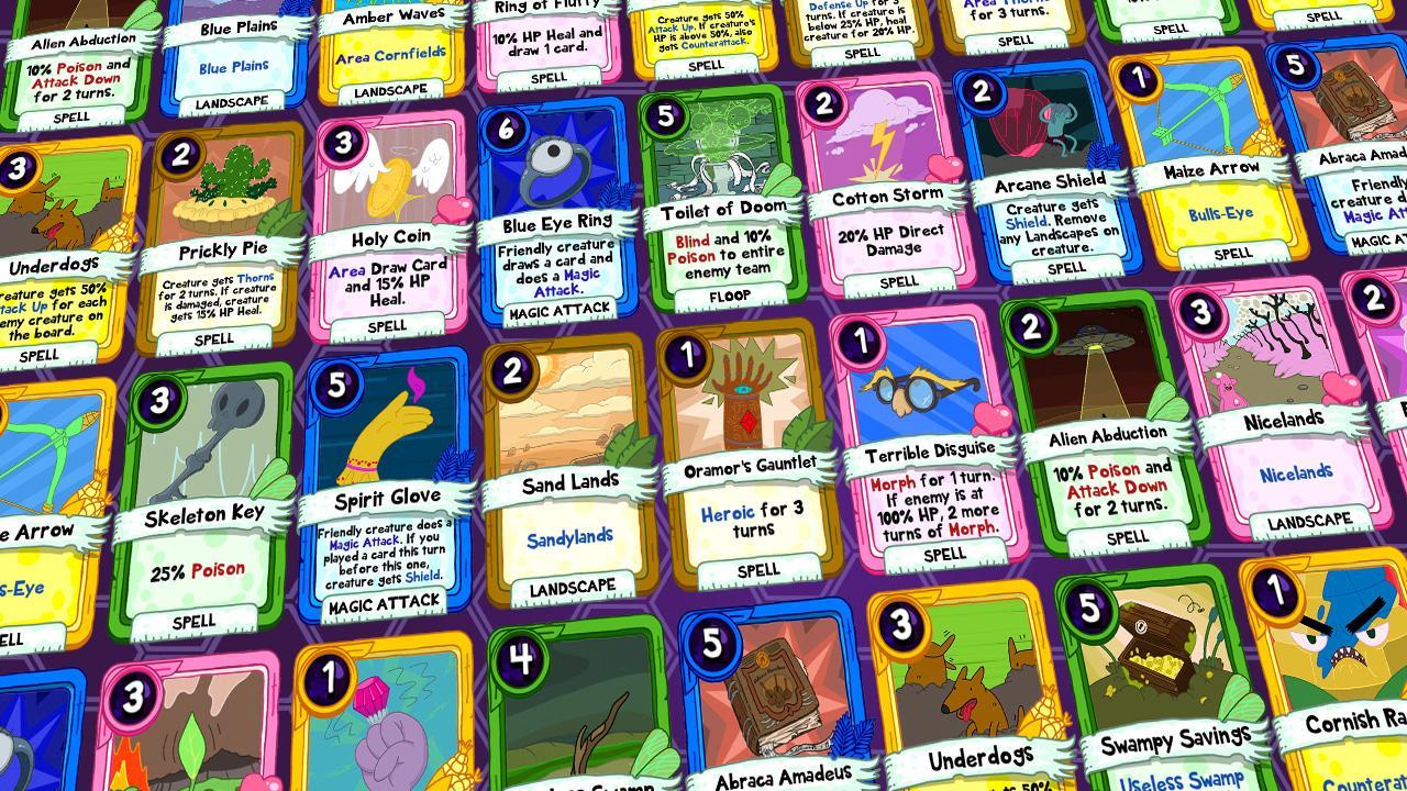 Карточные войны время приключений мультфильм сетевые игры для.