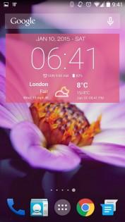 Weather & Clock Widget 5.9.3.4. Скриншот 3