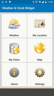 Weather & Clock Widget 5.9.3.4. Скриншот 7
