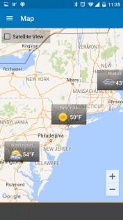 Weather & Clock Widget 5.9.3.4. Скриншот 9